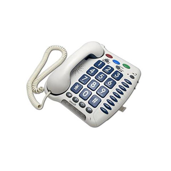 Teléfono fijo 3300 - Ayudas tecnicas. Ayudas tecnicas sordos. Productos de ayuda